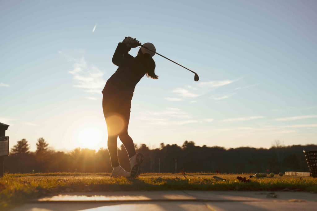 golfing with joint discomfort